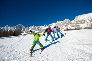 Family ski crystal